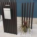 オシャレで機能的な外構門柱をデザインしました。ひたちなか市の外構エクステリア工事なら鈴木建装へ